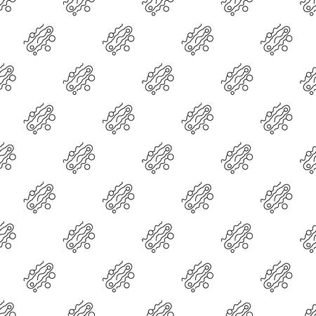 Corynebacterium pattern vector seamless repeating for any web design