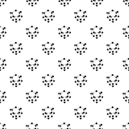 Glucose pattern vector seamless repeating for any web design