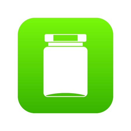 Jar icon digital green