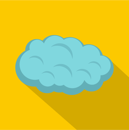 Cloud icon. Flat illustration of cloud icon for web