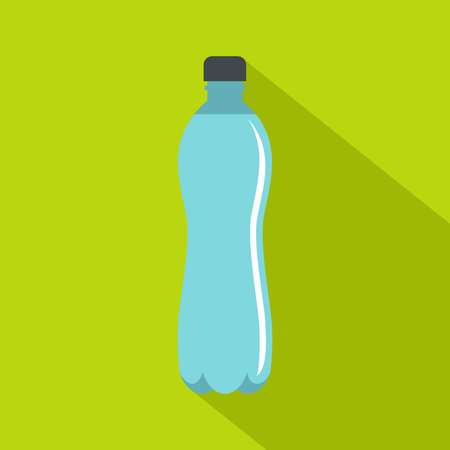 Water bottle icon. Flat illustration of water bottle icon for web Stock Photo
