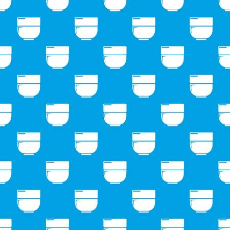 Bowl pattern vector seamless blue repeat for any use
