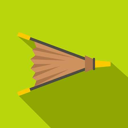 Fire bellows icon. Flat illustration of fire bellows icon for web