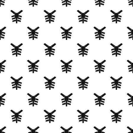 Human thorax pattern Stock Photo