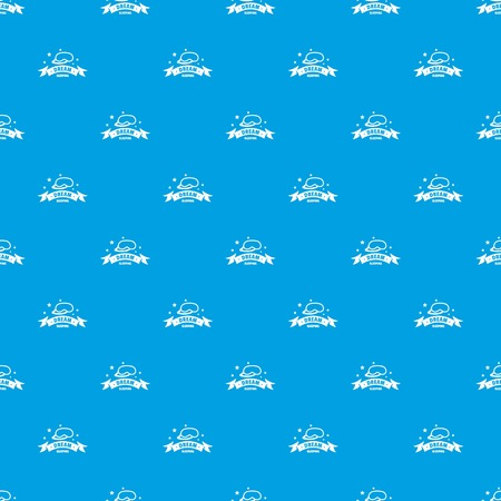 Sleeping pattern seamless blue repeat for any use