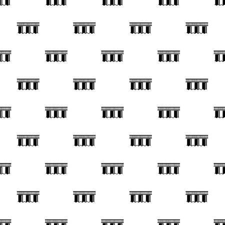 Urban bridge pattern seamless repeating for any web design