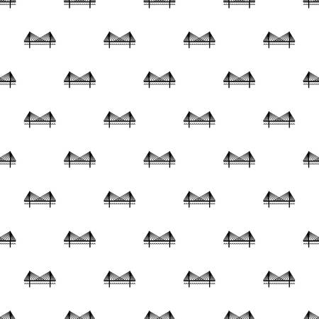 Bridge pattern seamless repeating for any web design Stock Photo
