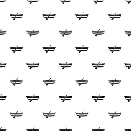 Fishing boat pattern