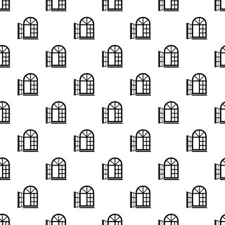 Window frame pattern vector seamless