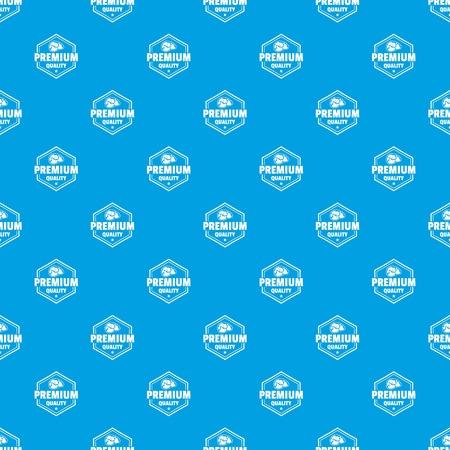 Vecteur de modèle de qualité de viande premium bleu transparent Vecteurs