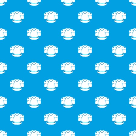 Hockey uniform pattern vector seamless blue repeat for any use