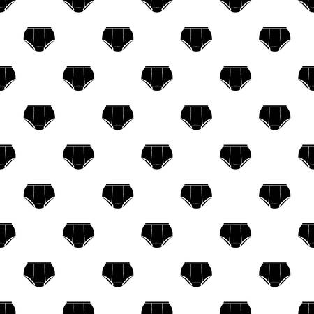 Briefs underpants pattern vector seamless repeating for any web design Illustration