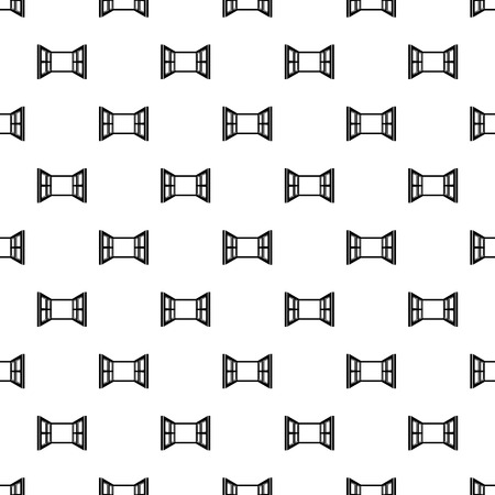Open window frame pattern vector seamless