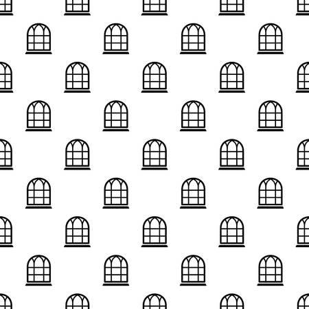 Big window frame pattern vector seamless  イラスト・ベクター素材