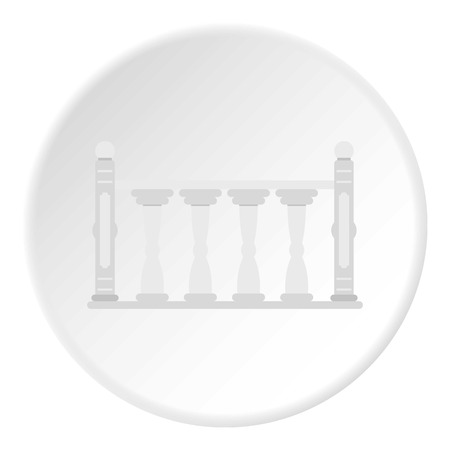 Balustrade icon circle