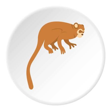 Monkey icon circle Reklamní fotografie