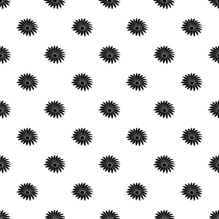 Gerber flower pattern vector seamless