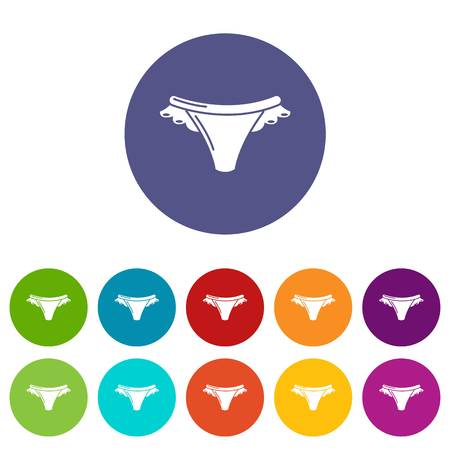 Underpants icon. Simple illustration of underpants vector icon for web