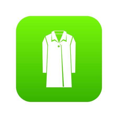 Coat icon digital green