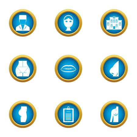 Increase icons set. Flat set of 9 increase vector icons for web isolated on white background