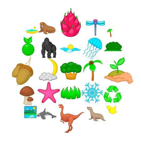 Ensemble d'icônes de diversité. Ensemble de dessin animé de 25 icônes vectorielles de diversité pour le web isolé sur fond blanc