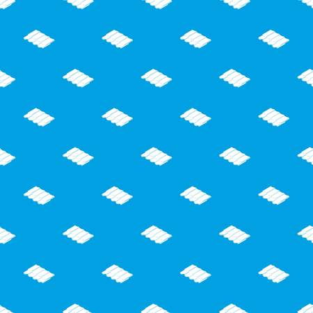 Metal tile pattern vector seamless blue repeat for any use Stock Illustratie