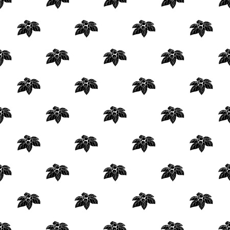 Whortleberries pattern vector seamless repeating for any web design Ilustração
