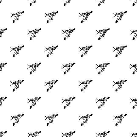 Ball python pattern vector seamless