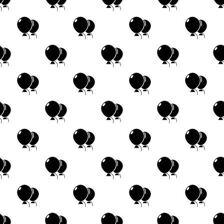 Wedding ballons pattern vector seamless repeating for any web design