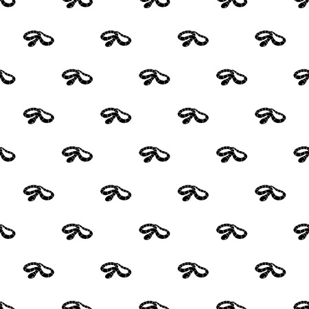 Red milk snake pattern vector seamless repeating for any web design