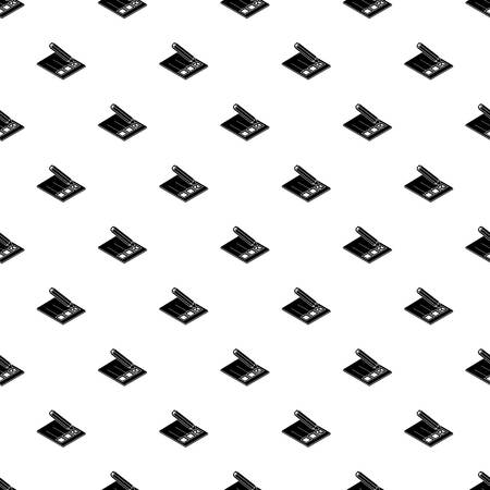 Election paper pattern vector seamless repeating for any web design