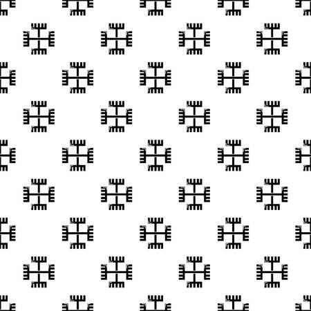 Symbole païen ancien vecteur répétition transparente pour tout web design