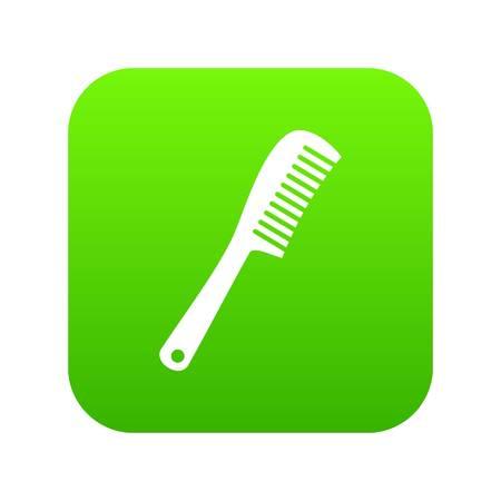 Comb icon digital green