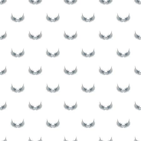 bird wing pattern vector seamless royalty free cliparts vectors