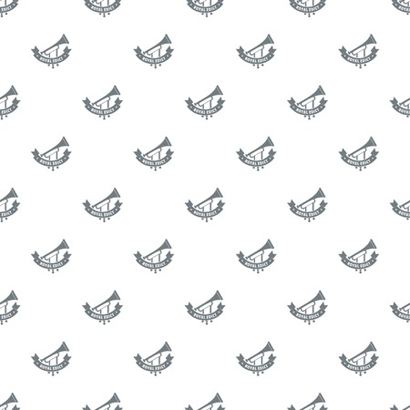 Trumpet pattern vector seamless Vectores