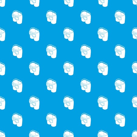 Denim jeans pattern vector seamless blue repeat for any use Vettoriali