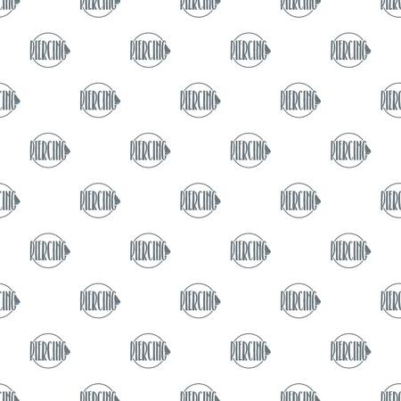 Nose piercing pattern vector seamless
