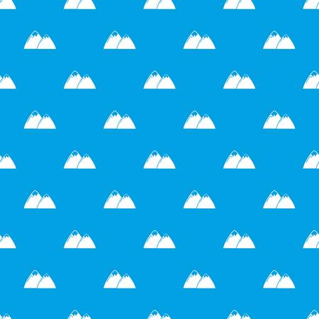 Mountain pattern vector seamless blue 일러스트