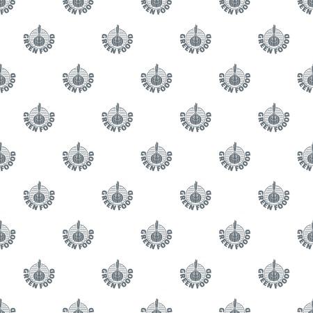 Onion pattern vector seamless