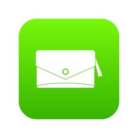 Small bag icon digital green