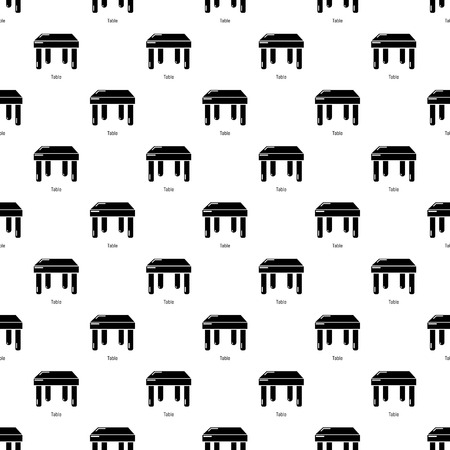 Table pattern vector seamless repeating for any web design