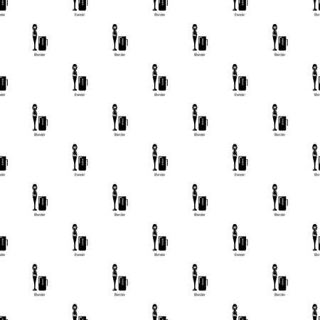 Blender pattern vector seamless repeating for any web design Illustration