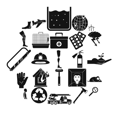 Facilitation icons set. Simple set of 25 facilitation vector icons for web isolated on white background