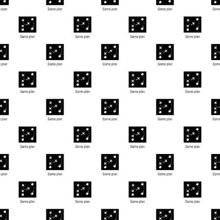 Plan de jeu vecteur transparente répétition pour toute conception de sites Web Vecteurs