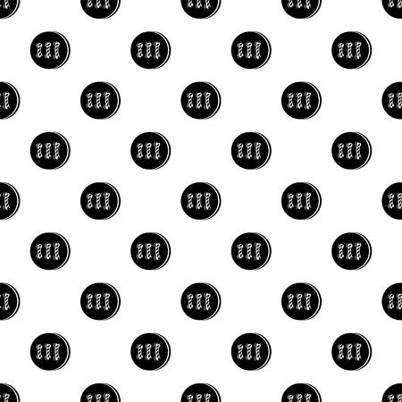 Retro button pattern vector seamless repeating for any web design Illustration