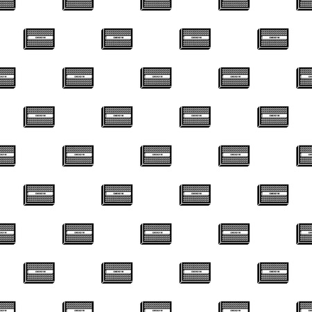 Microchip pattern vector seamless repeating for any web design Illustration