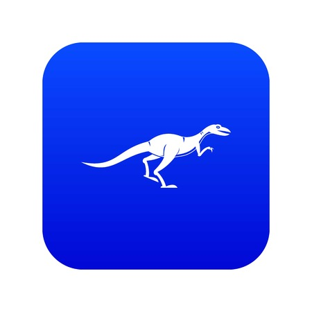 Velyciraptor icon digital blue