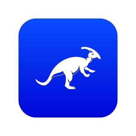 Parazavrolofus icon digital blue