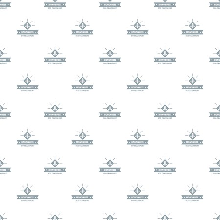 Lifestyle mono wheel pattern vector seamless Illustration