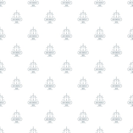 Air energy pattern vector seamless